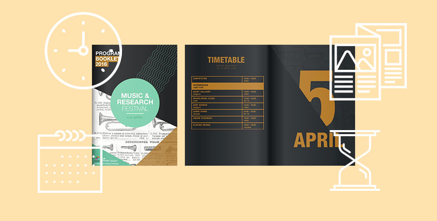 How to make event brochures