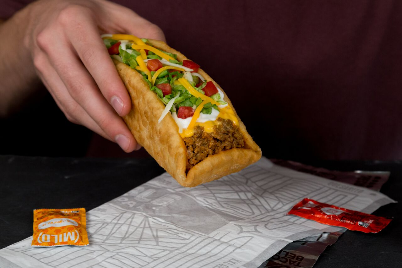 Fullsize Of Taco Bell Chalupa Box