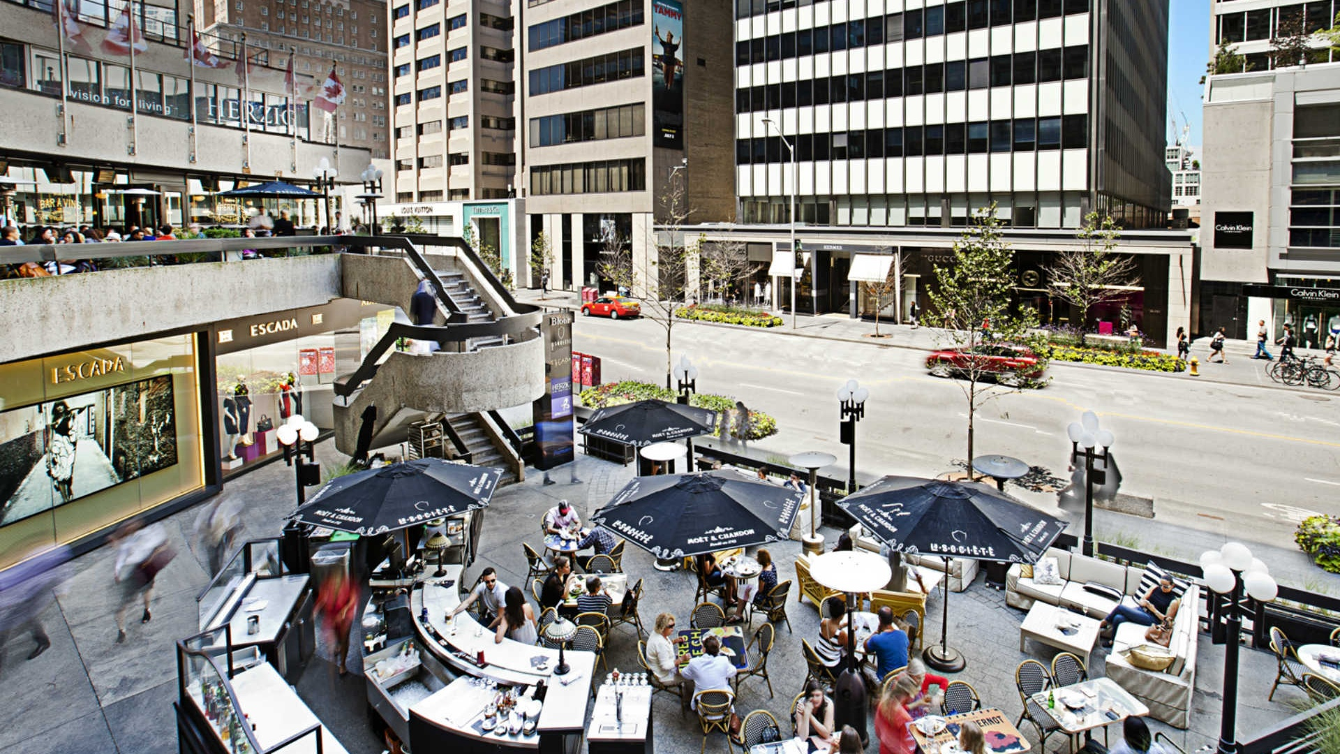 Al Fresco Top Six In The 6 The City S Hottest Patios For Al Fresco Dining