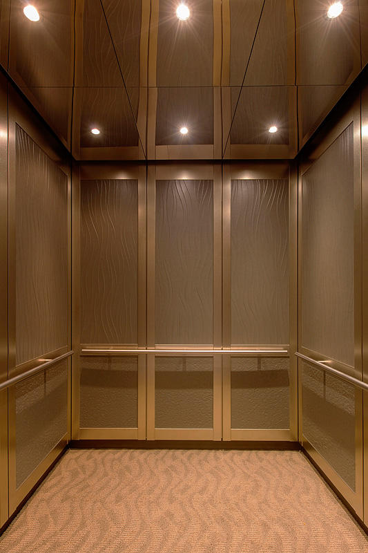 Modern 3d Wallpaper Texture Elevator Ceilings Architectural Forms Surfaces