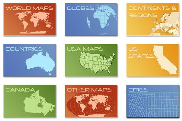 free interactive maps for powerpoint - Minimfagency