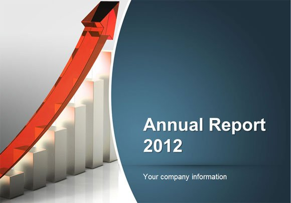 to Make an Annual Report using PowerPoint Templates - free annual report templates