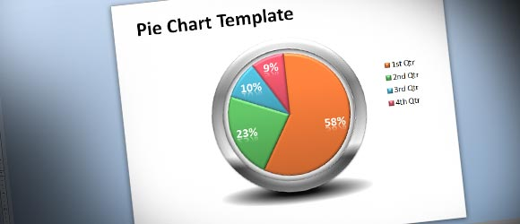 Free Creative Pie Chart Template for PowerPoint Presentations - free charts templates