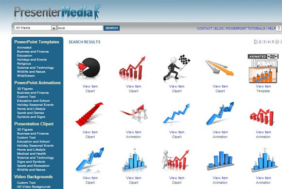 Awesome 3D \ Animated Charts for Business Presentations - free charts templates