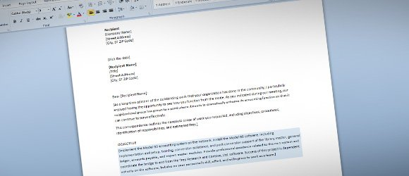 Business Proposal Template for Word - free business proposal templates