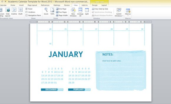 can i make a calendar in word 2013 - Wwwrule-of-law