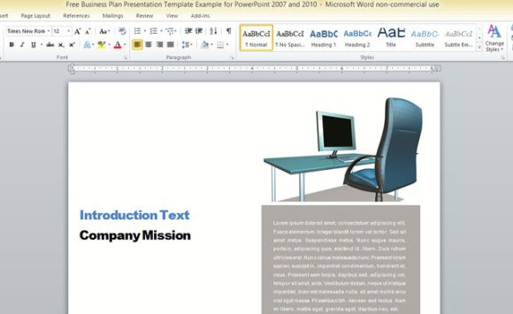 free microsoft word report templates - professional report template word 2010
