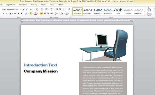 microsoft word report templates free