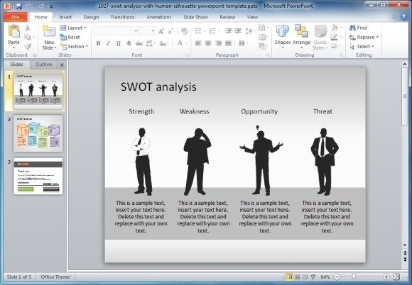 SWOT Analysis Template Microsoft Word Templates - visualbrainsinfo