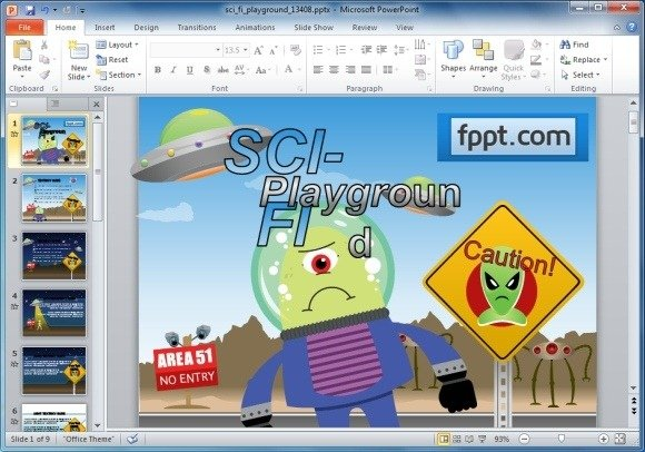Sample Education Power Point Templates Reading Powerpoint Template