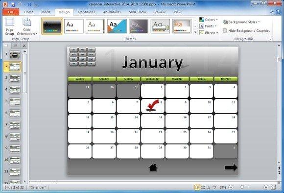 Roadmap PowerPoint Template - powerpoint calendar template