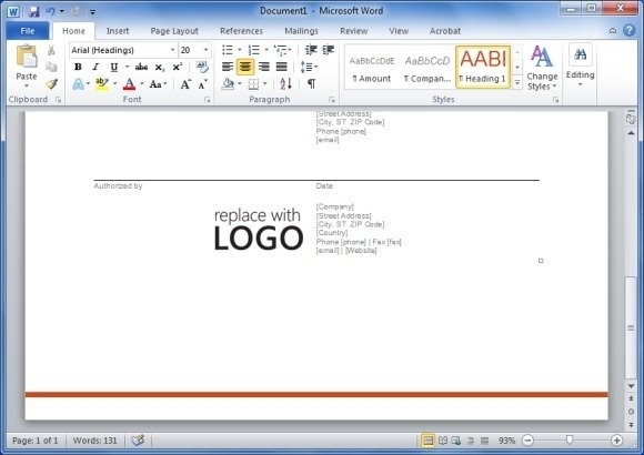 Purchase Order Template Open Office - Costumepartyrun - open office purchase order template