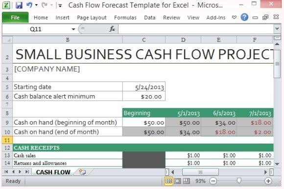 cash flow excel - gerardradio - statement of cash flows template