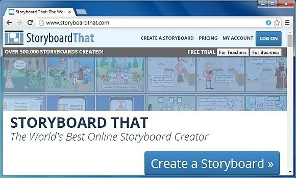 StoryBoardThat Drag \ Drop Images To Create Animated Storyboards - website storyboard