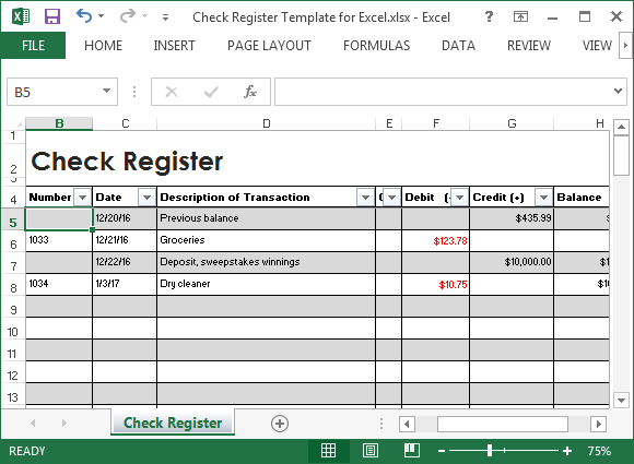 online check registers