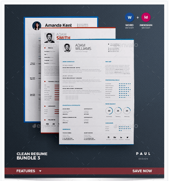 Create A Professional Resume Adobe Indesign Cc Tutorials Top 11 Professional Resume Templates For Making The