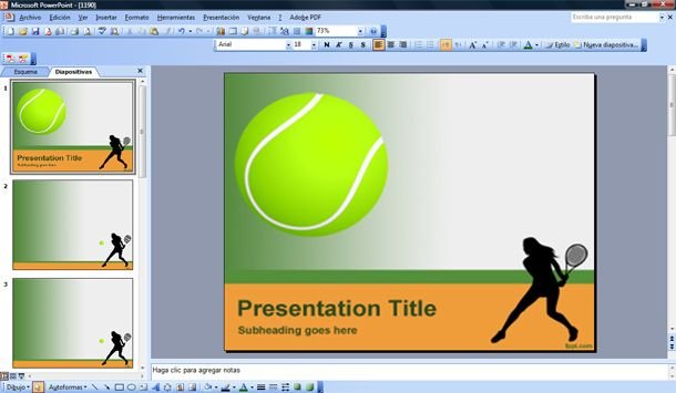 Free Sport PowerPoint Templates