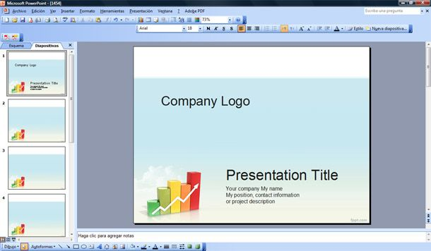 Management PowerPoint Templates - Presentation Project