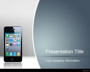 Free iPhone Wireframe PowerPoint Template