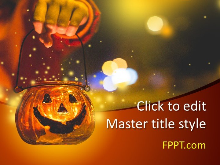 Free Halloween PowerPoint Template - Free PowerPoint Templates