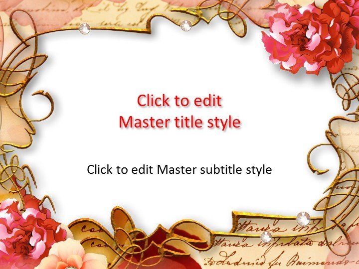 powerpoint themes flowers