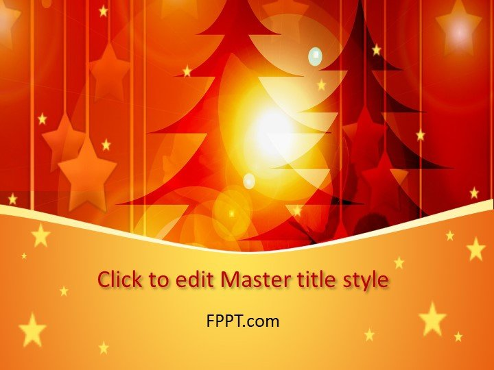 Free Christmas PowerPoint Templates - christmas powerpoint template