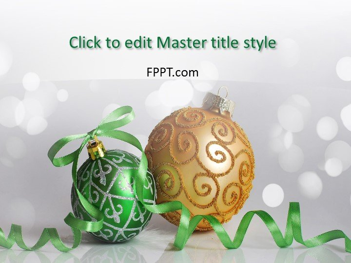 Christmas PowerPoint Templates - christmas powerpoint template