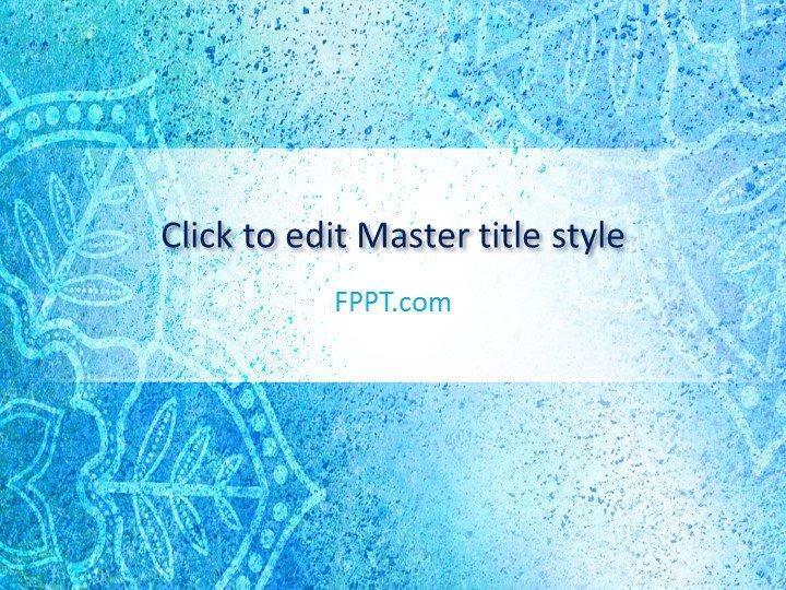 Free Mandala PowerPoint Template - Free PowerPoint Templates