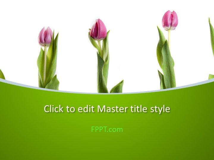 Free Flowers PowerPoint Templates - memorial powerpoint templates free