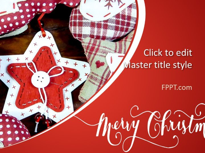 Free Merry Christmas PowerPoint Templates