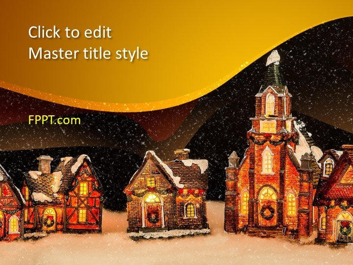 Free Winter PowerPoint Template - Free PowerPoint Templates