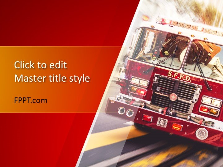 Free Firefighter PowerPoint Templates