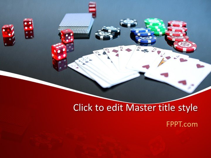 Free Card Game PowerPoint Template - Free PowerPoint Templates
