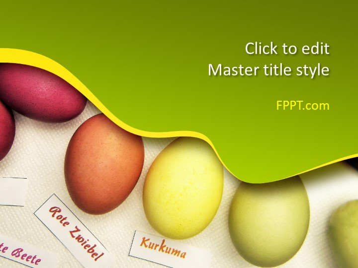 Free Eggs PowerPoint Template - Free PowerPoint Templates