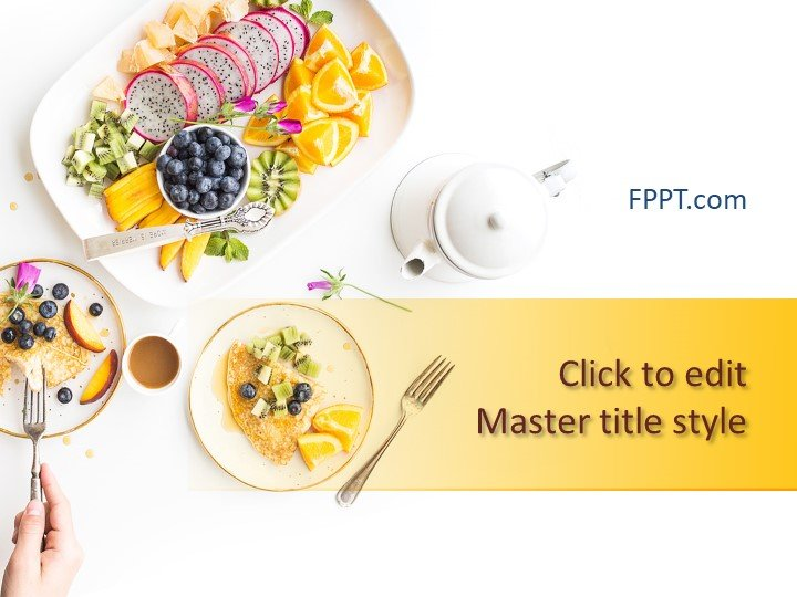 Free Nutrition PowerPoint Templates