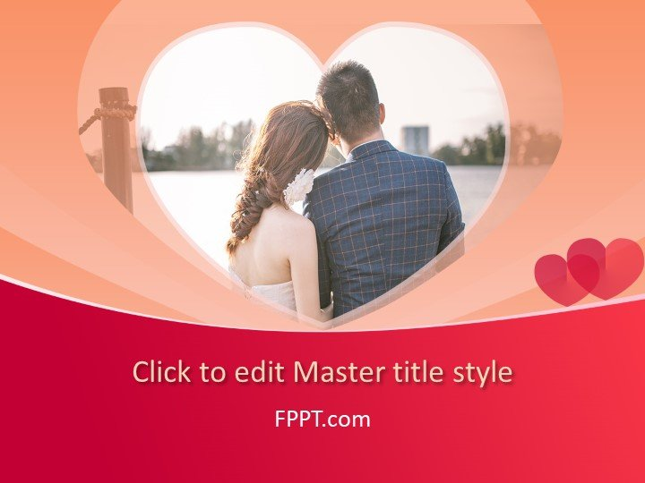 Love/Hearts and Couples PowerPoint Templates - love templates