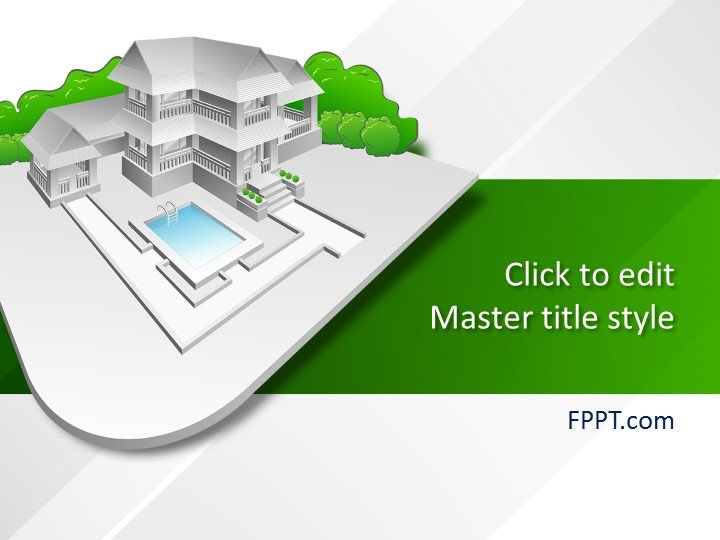 Free Building Project PowerPoint Template - Free PowerPoint Templates