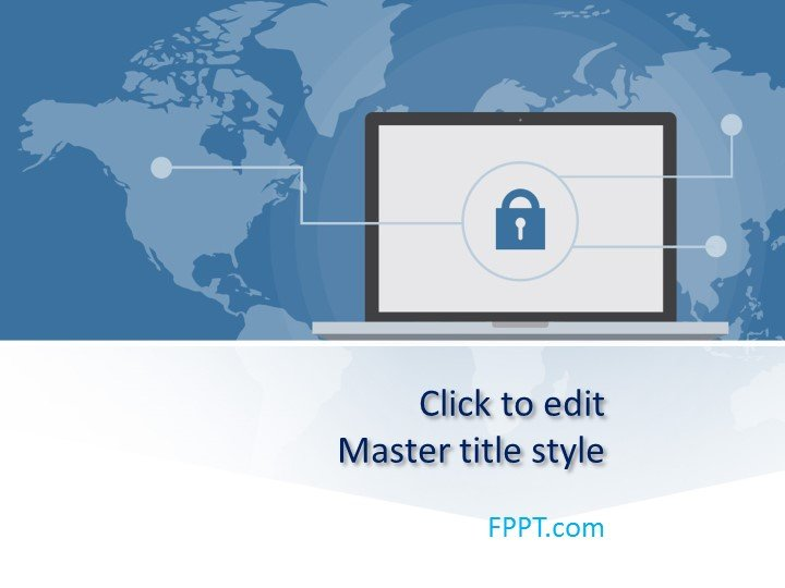 Free Security PowerPoint Template - Free PowerPoint Templates