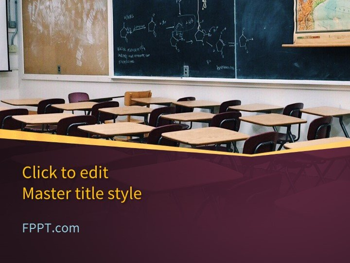 Free Classroom PowerPoint Template - Free PowerPoint Templates