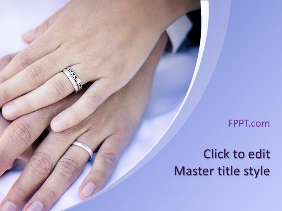 Free Wedding PowerPoint Template - Free PowerPoint Templates
