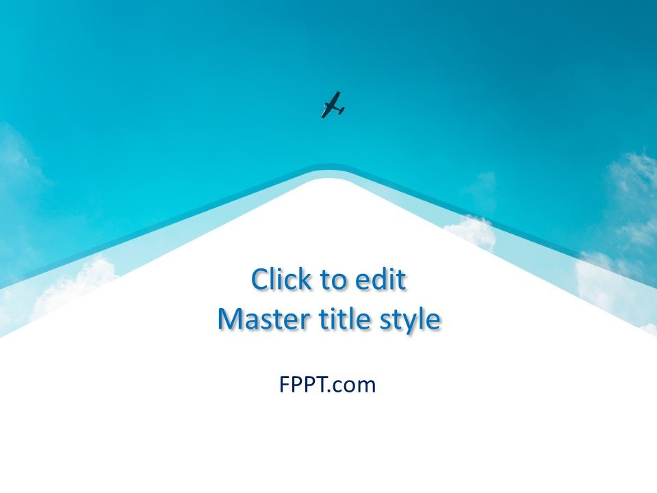 Free Sky PowerPoint Template - Free PowerPoint Templates