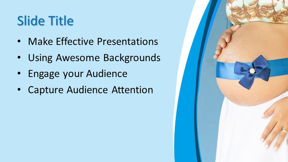 powerpoint template blue