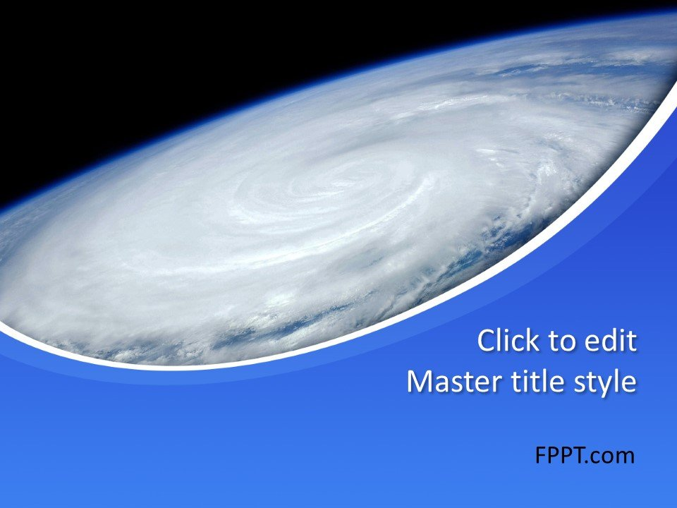 Free Hurricane PowerPoint Template - Free PowerPoint Templates