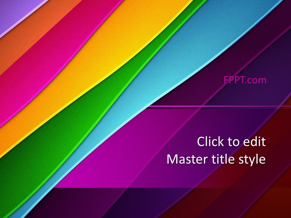 Free Colorful PowerPoint Design Template - Free PowerPoint Templates