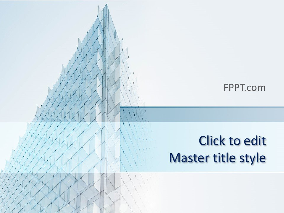 Free Architecture Perspective PowerPoint Template - Free PowerPoint