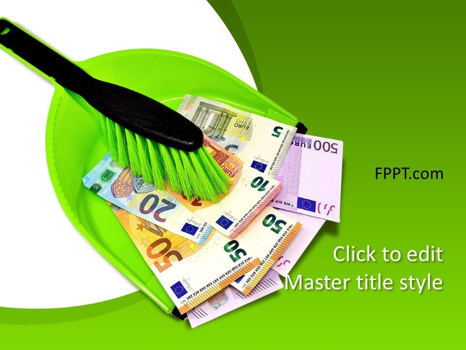 Free Clean Money PowerPoint Template - Free PowerPoint Templates