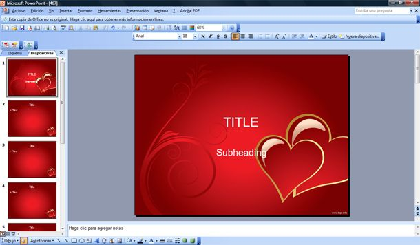 Valentine\u0027s PowerPoint Templates - Free PPT Templates - love templates free