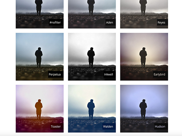 Bootstrap Css Cssgram - Instagram Filters With Css - Freebiesbug