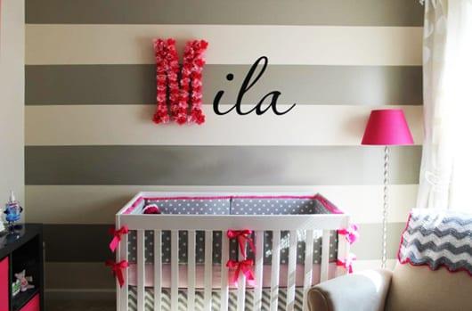 coole-mädchen-babyzimmer-gestaltung-und-babyzimmer-streichen-in - kinderzimmer streichen madchen