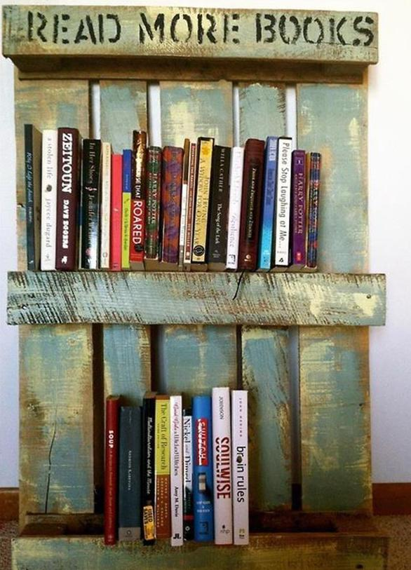Sofa Balkon Diy Bücherregal Aus Paletten - Freshouse